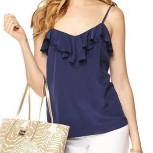 Lilly Pulitzer ruffle camisole